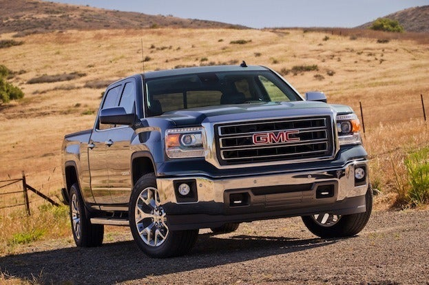 2014 GMC front