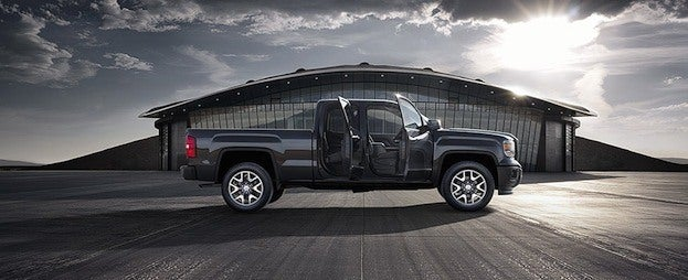 2014 GMC with doors open