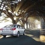 2015 Subaru Legacy Rear
