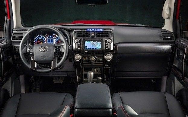 Toyota 4Runner cabin