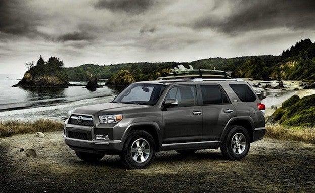 Toyota 4Runner front