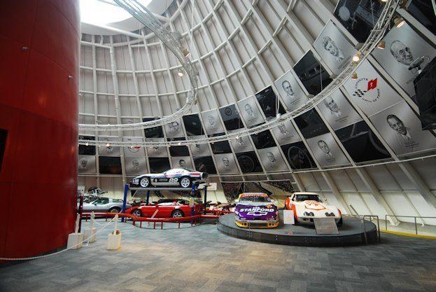 Corvette Museum Skydome Area 2009 22