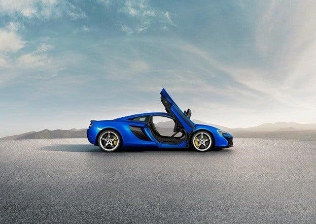 McLaren 650S side