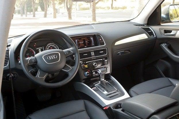 Audi Q5 TDI cabin