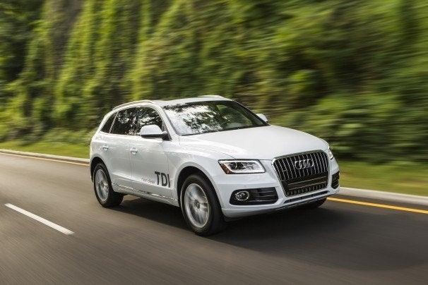 Audi Q5 TDI driving