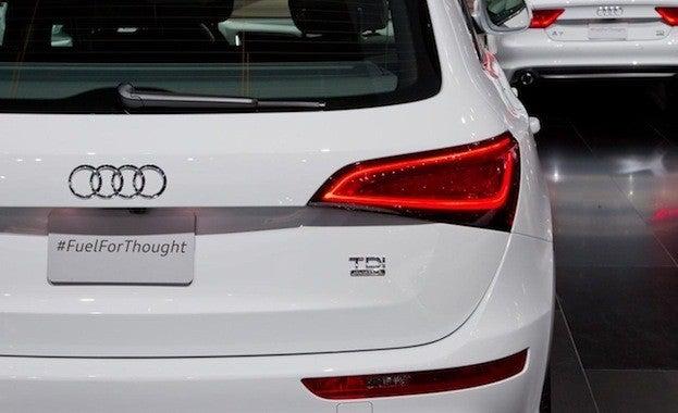Audi Q5 TDI rear