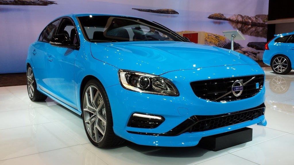chicago auto show volvo 39 s s60 and v60 polestar. Black Bedroom Furniture Sets. Home Design Ideas
