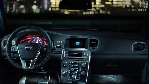 Volvo S60 and V60 Polestar Dash