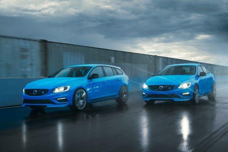 Volvo S60 and V60 Polestar Front