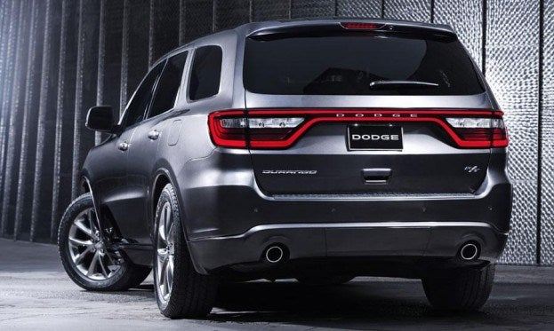 Dodge Durango R/T rear