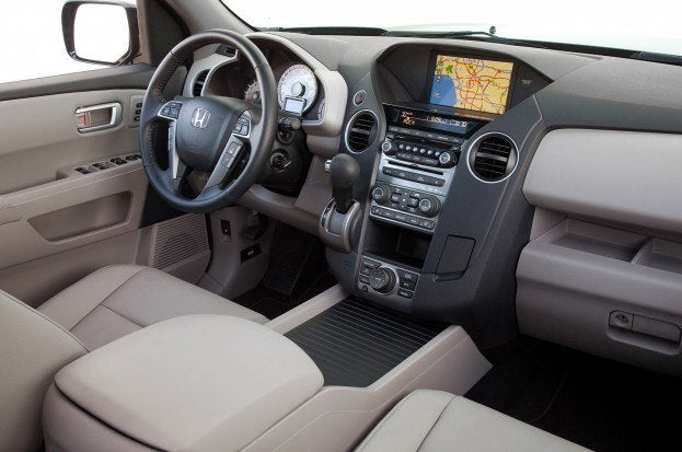 2014 Honda Pilot cabin
