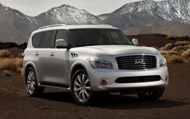2014 Infiniti QX80 Review