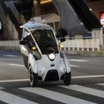 Toyota i-ROAD Leans Towards Radical Future in Transportation