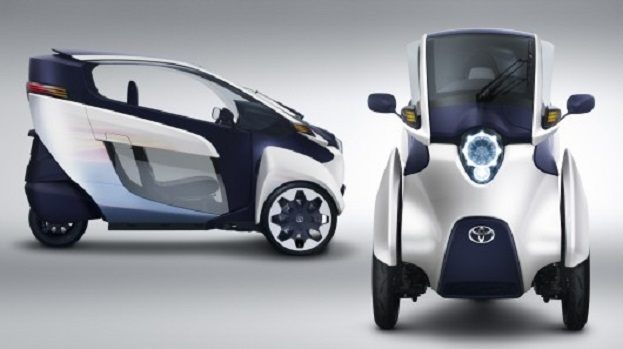 Toyota i-Road view