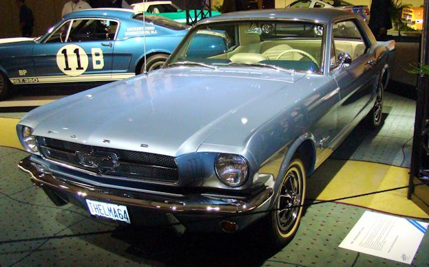 1964.5 Ford Mustang at 2010 CIAS