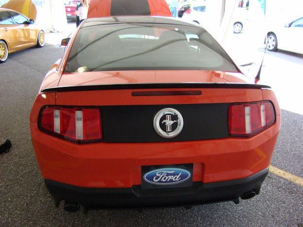 2011 Ford Mustang Boss 302 Rear