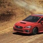 2015 Subaru WRX sliding