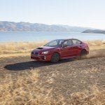 2015 Subaru WRX driving