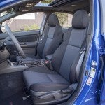 2015 Subaru WRX seats