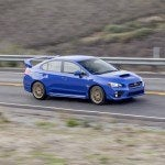 2015 Subaru WRX STI driving 1