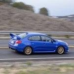 2015 Subaru WRX STI driving