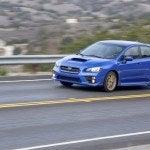 2015 Subaru WRX STI driving 2