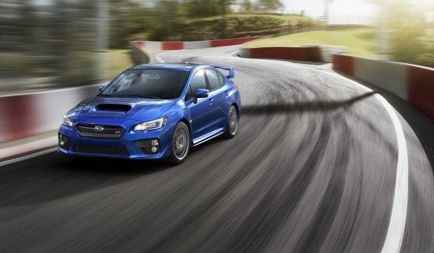 2015 Subaru WRX STI driving epic