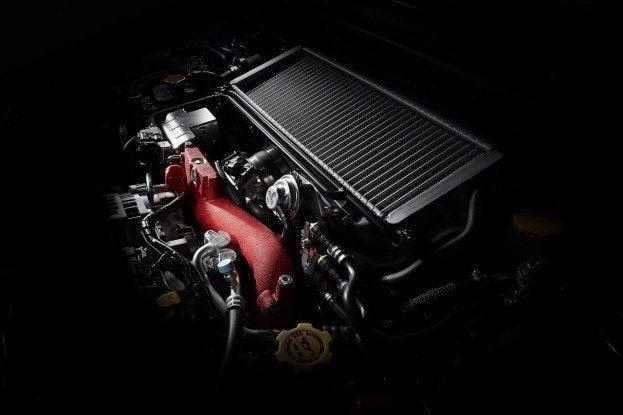 2015 Subaru WRX STI engine