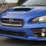 2015 Subaru WRX STI front angle