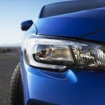 2015 Subaru WRX STI headlight close