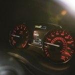 2015 Subaru WRX STI instrument