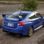 2015 Subaru WRX STI rear quarter