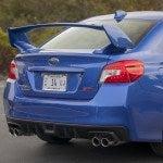 2015 Subaru WRX STI tail