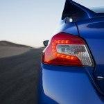 2015 Subaru WRX STI taillight