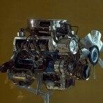 302 Boss engine cutaway
