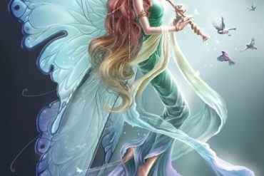 640x880 18445 Fairy 2d fantasy fairy picture image digital art