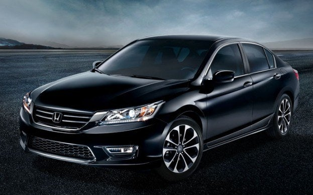 2014 Honda Accord hybrid front