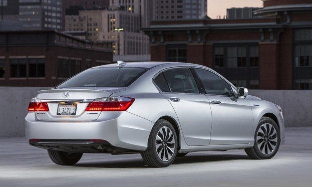 2014 Honda Accord hybrid rear