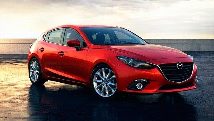 Mazda3 front
