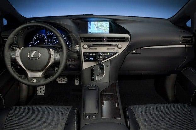 Lexus RX350 F Sport Cabin
