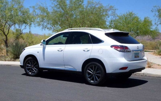 2014 Lexus Rx 350 F Sport Review