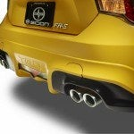 Scion FR S RS 1 exhaust
