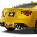 Scion FR S RS 1 rear bumber