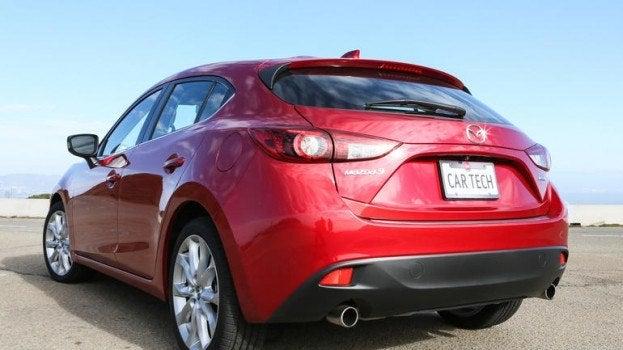 Mazda3 rear