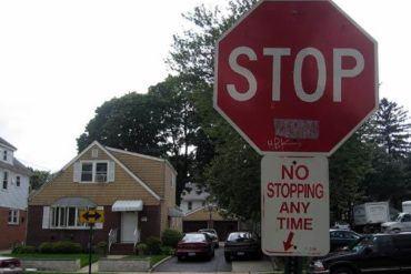 stop no stopping