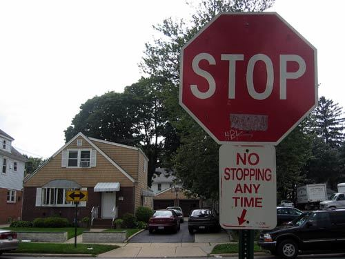 stop no stopping