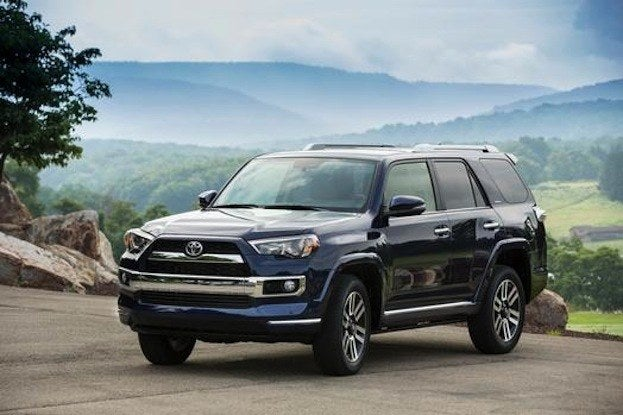 2014 Toyota 4Runner mountain