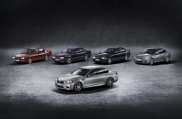 BMW M5 30th Anniversary cars