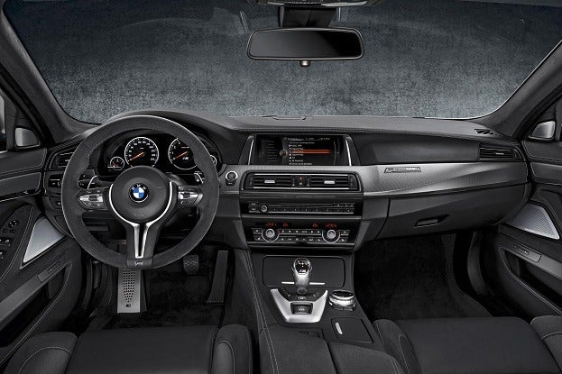 BMW M5 30th Anniversary interior