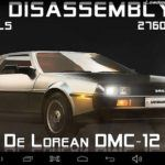 CA3D Screenshot Delorean